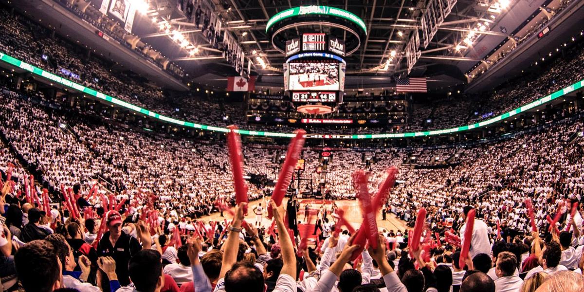 Toronto Raptors Celebrate