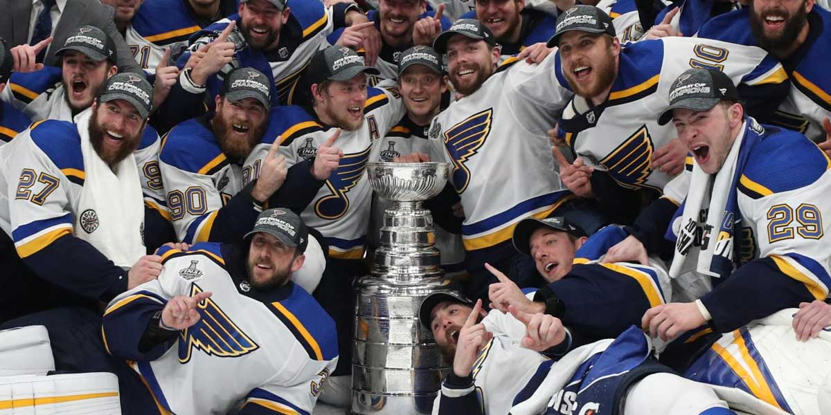St. Louis Blues - Stanley Cup Champions