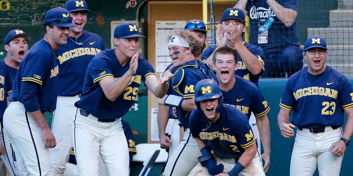 Michigan Wolverines - College World Series Championship