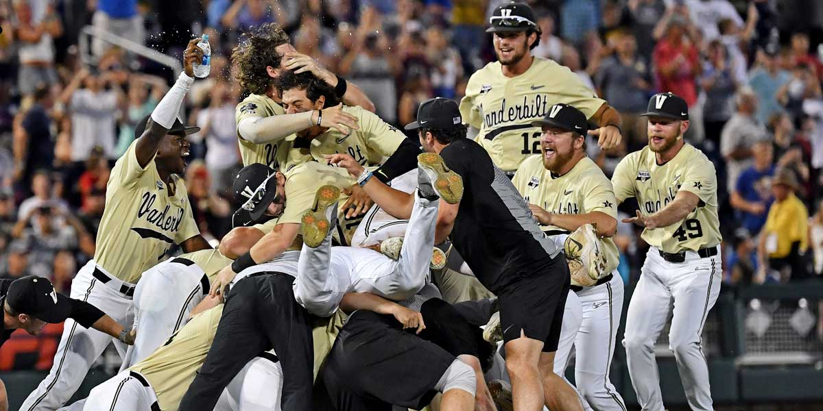 Vanderbilt Are College World Series Champions