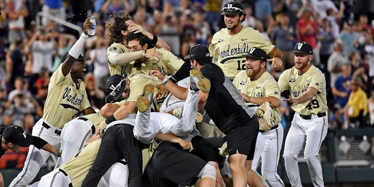 Vanderbilt Are College World Series Champions