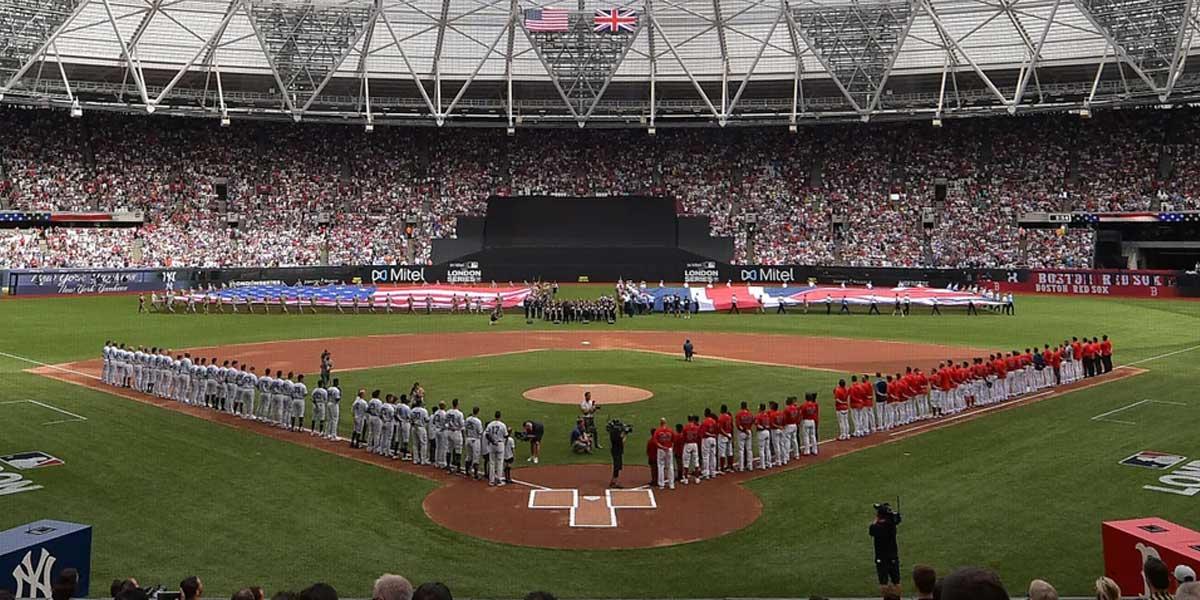 MLB Gives Londoners An American Baseball Experience