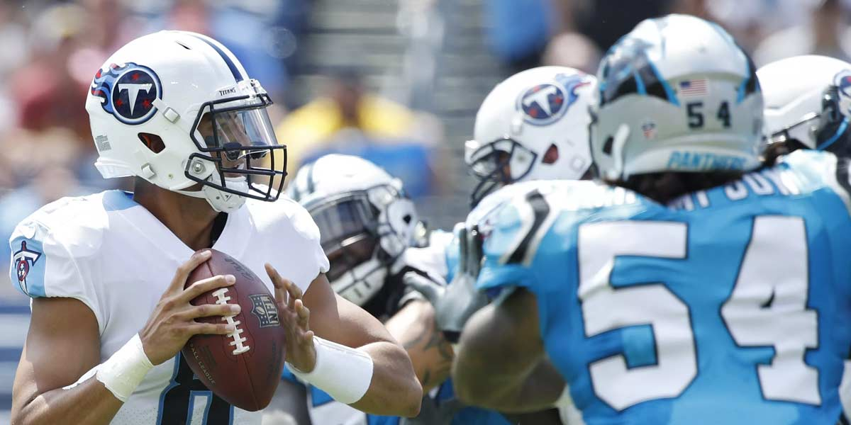 Tennessee Titans and Carolina Panthers