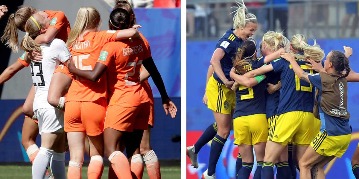 Netherlands Over Sweden In WC Semifinals