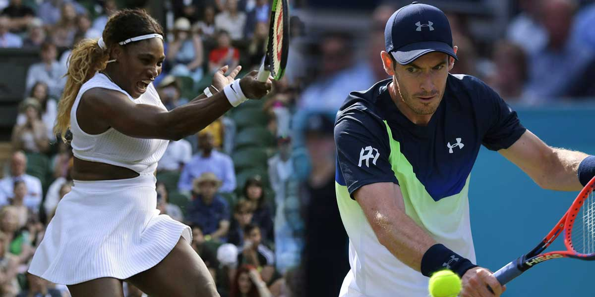 Andy Murray, Serena Williams