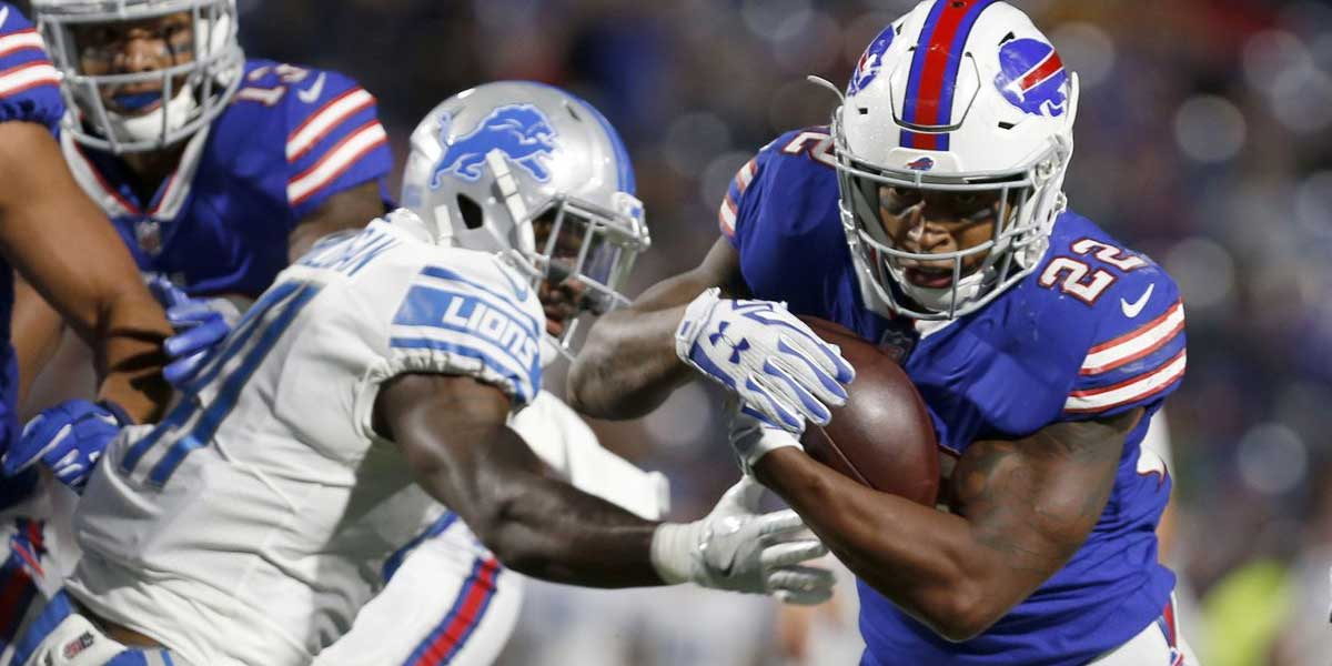 The Detroit Lions face the Buffalo Bills