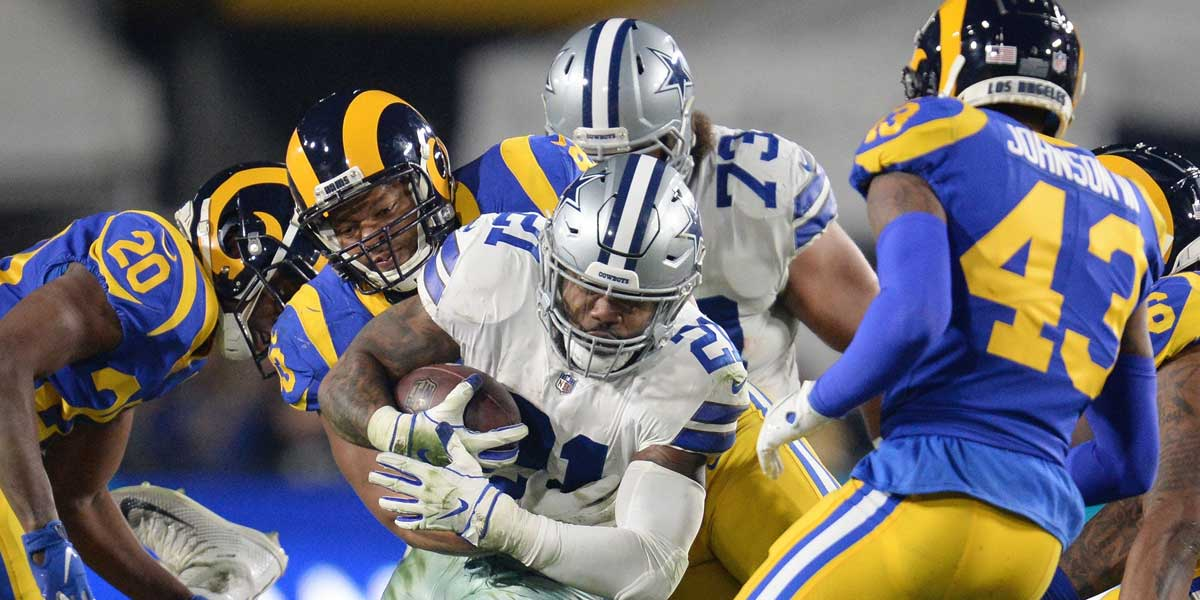 Dallas Cowboys and Los Angeles Rams