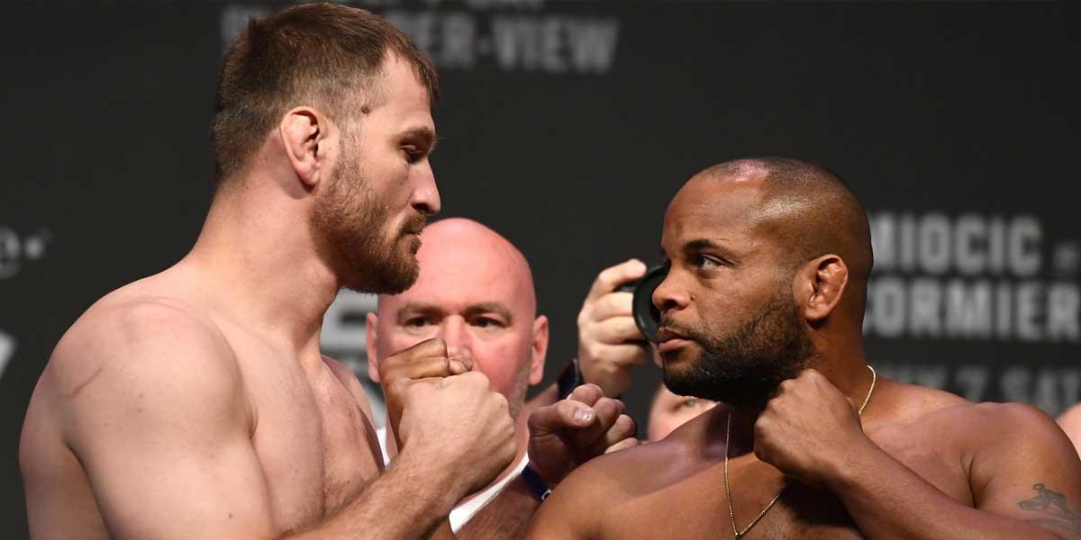 Stipe Miocic, Daniel Cormier, UFC 241