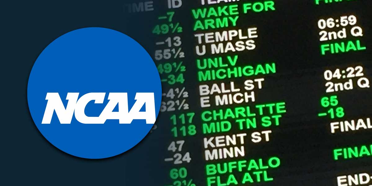 Is It Time For The NCAA To Embrace Sports Betting?