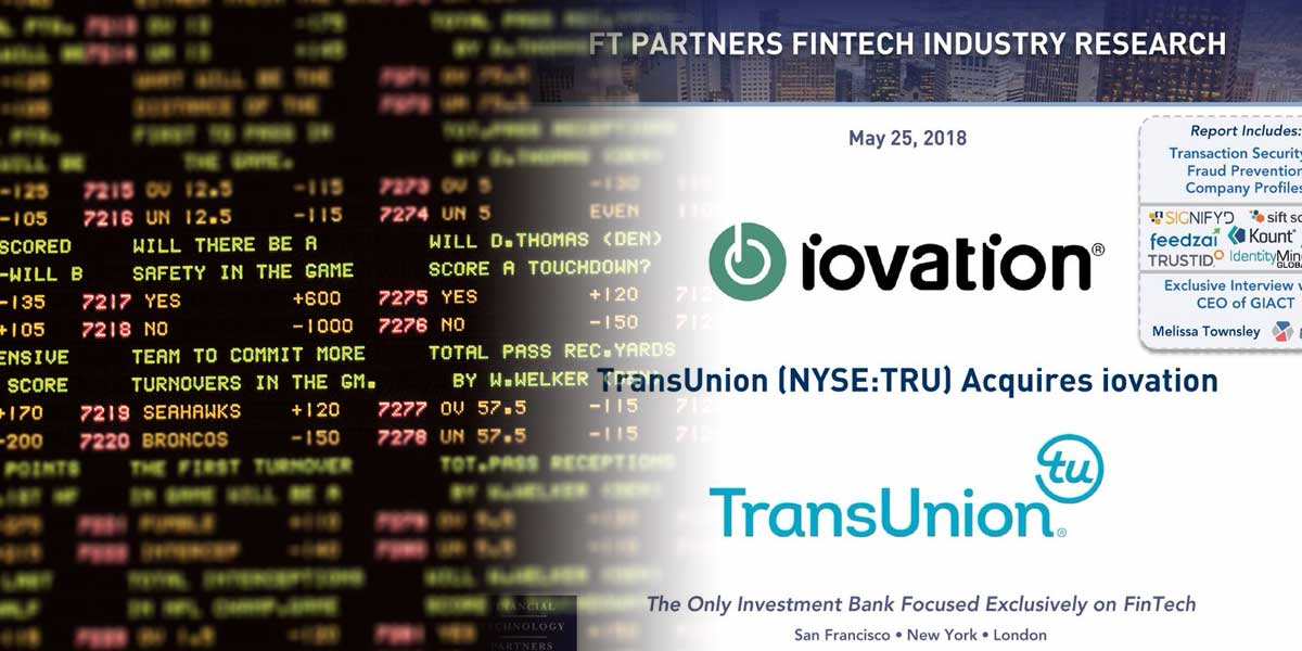 TransUnion and iovation