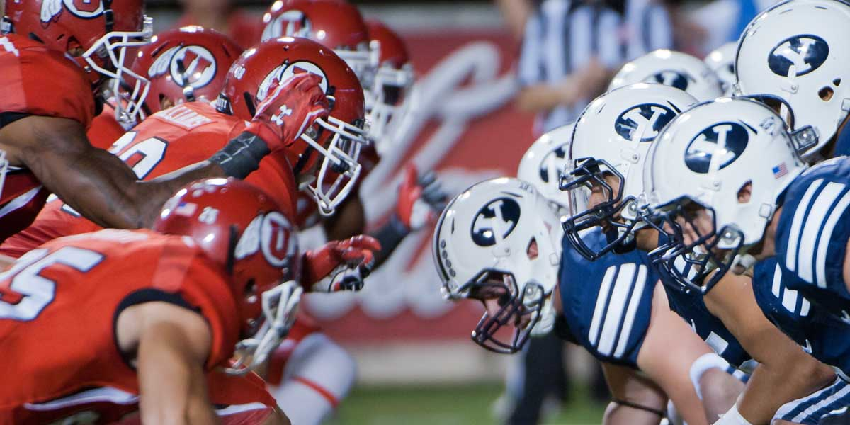 100th meeting of The Holy War - BYU Cougars vs. Utah Utes