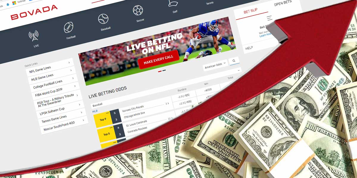 Online Sportsbooks Report Spike In NFL Wagers
