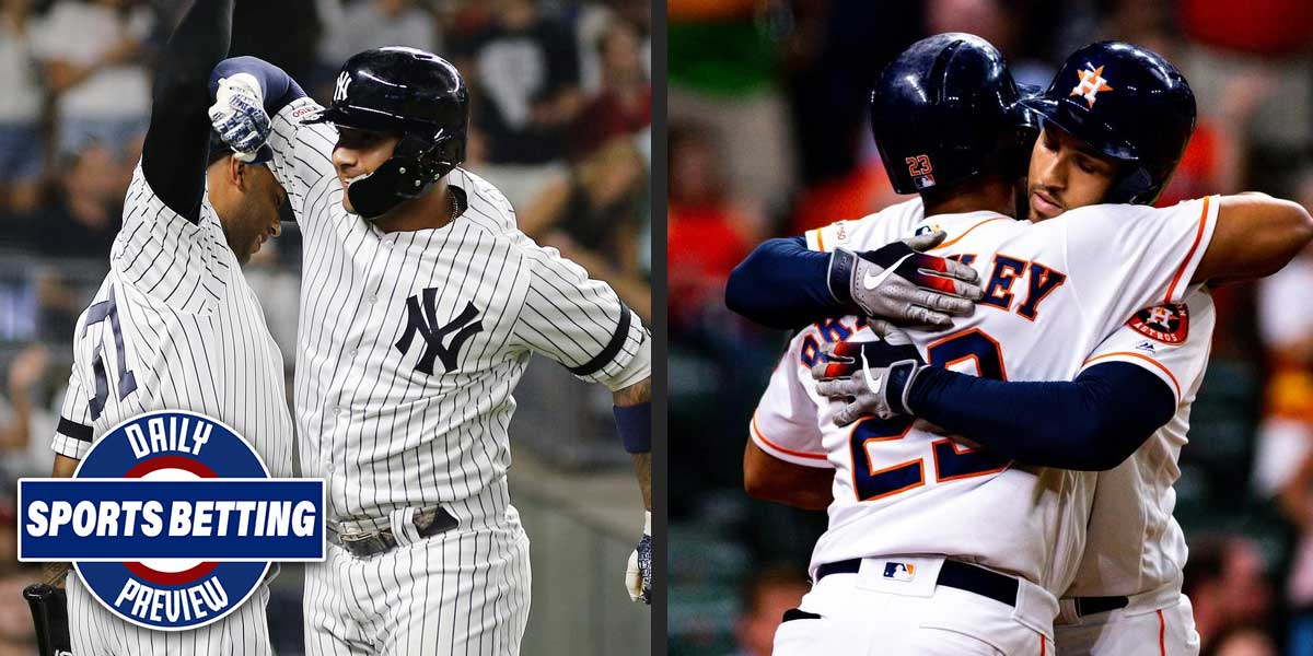 New York Yankees and Houston Astros
