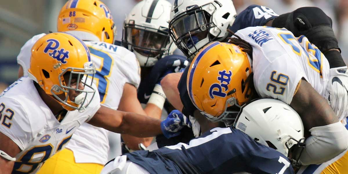 Pittsburgh Panthers @ #13 Penn State Nittany Lions