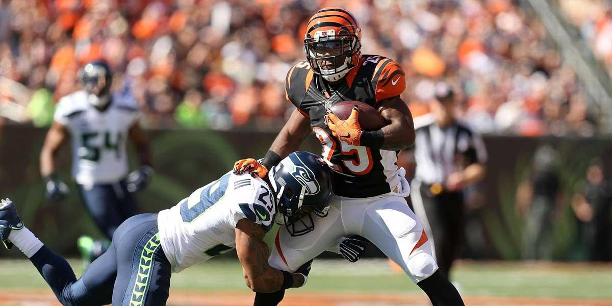 Cincinnati Bengals Vs. Seattle Seahawks