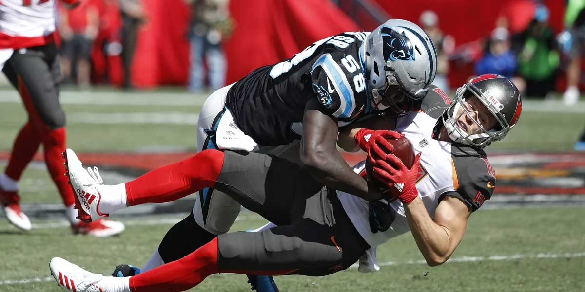Carolina Panthers and Tampa Bay Buccaneers