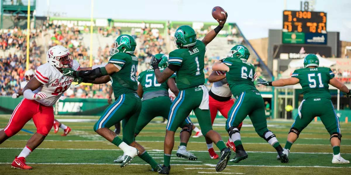 Tulane Green Wave and the Houston Cougars