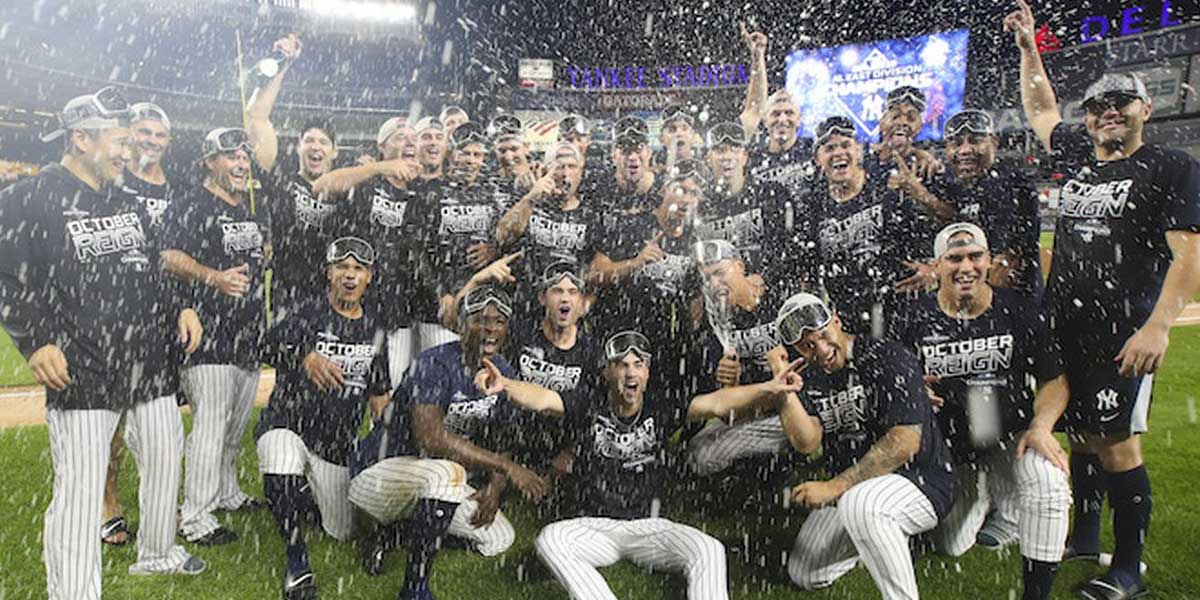 Yankees Take AL East Division Title
