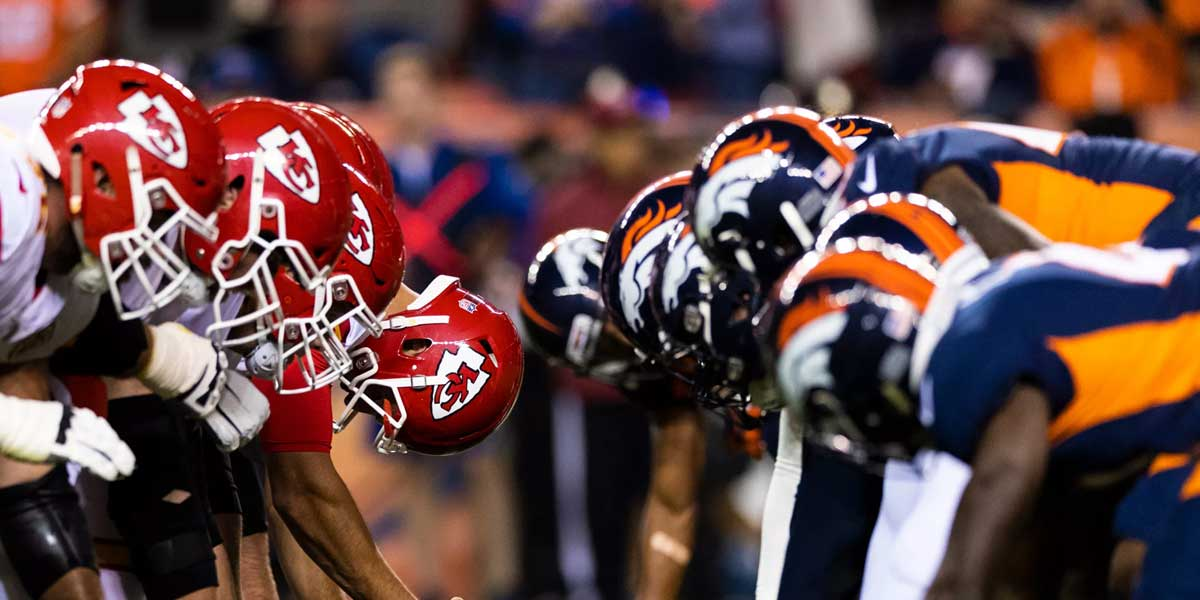 Kansas City Chiefs and the Denver Broncos