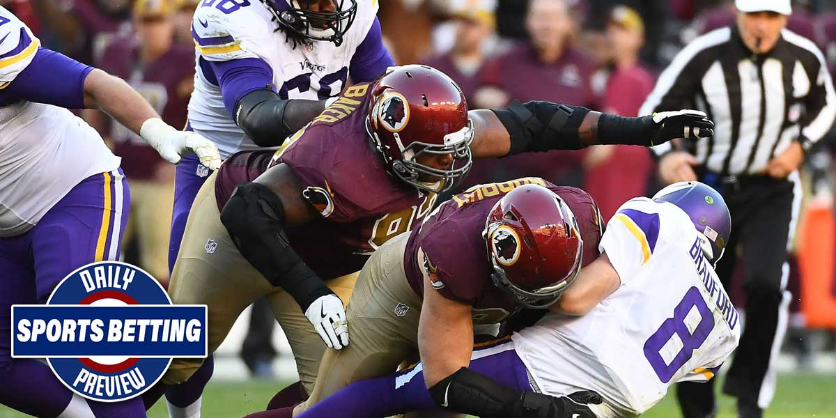 Minnesota Vikings and Washington Redskins