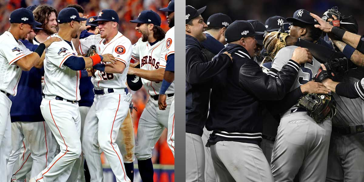 Who Will Face The Nationals In The World Series, Astros Or Yankees?