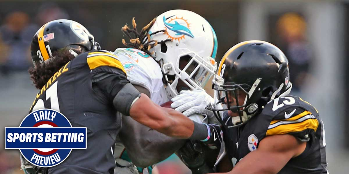 Pittsburgh Steelers and Miami Dolphins