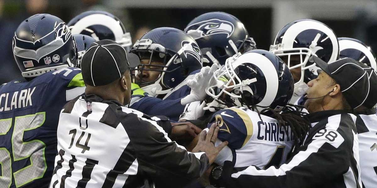 LA Rams and Seattle Seahawks