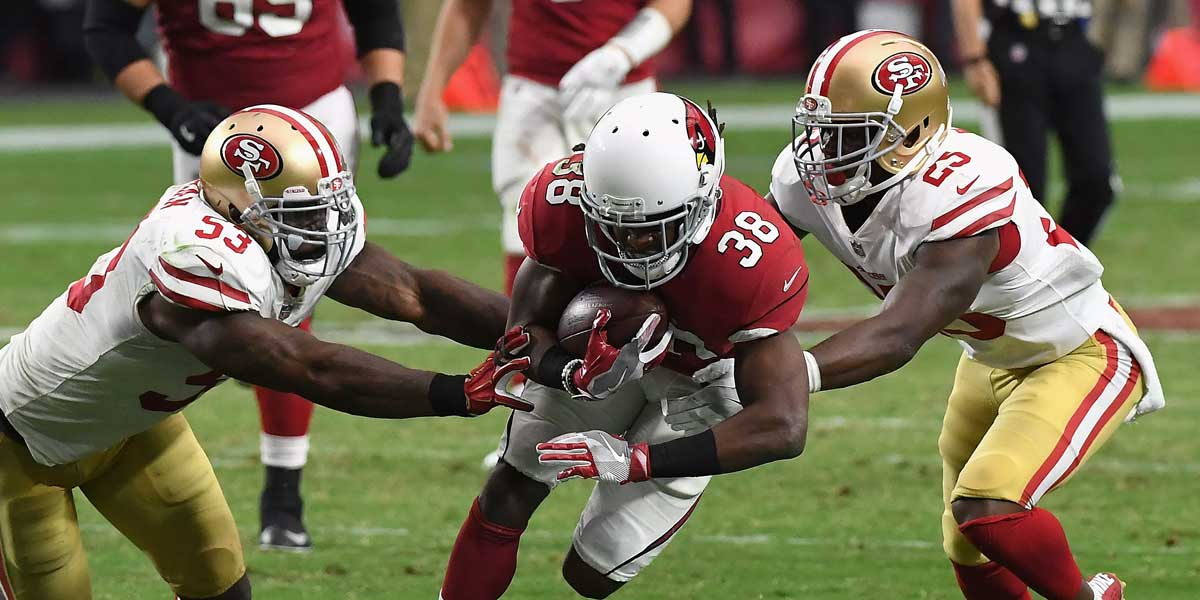 San Francisco 49ers and the Arizona Cardinals