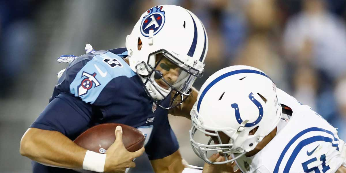 Tennessee Titans Vs. Indianapolis Colts