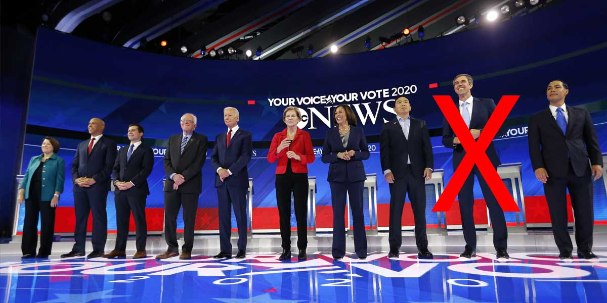 Will A Democratic Candidate Dropout Before The Nov 20 Debate