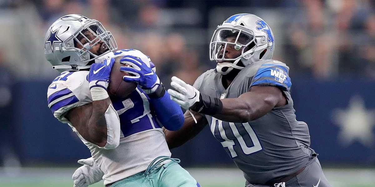 Dallas Cowboys Vs. Detroit Lions