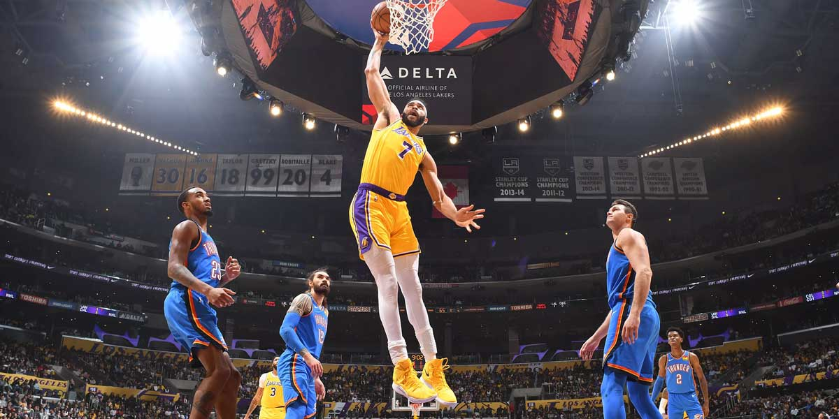 Los Angeles Lakers vs. Oklahoma City Thunder