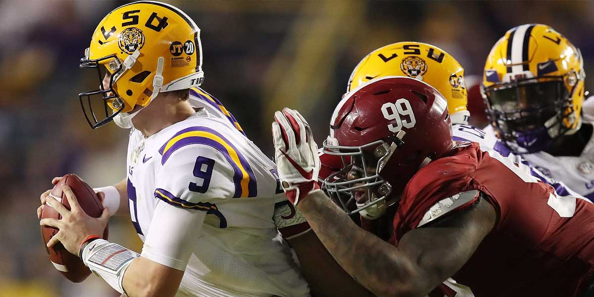 LSU Tigers - Alabama Crimson Tide