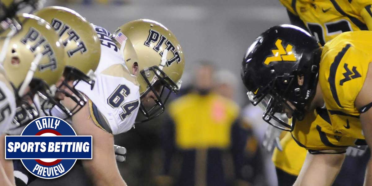 West Virginia Mountaineers Vs. Pittsburgh Panthers