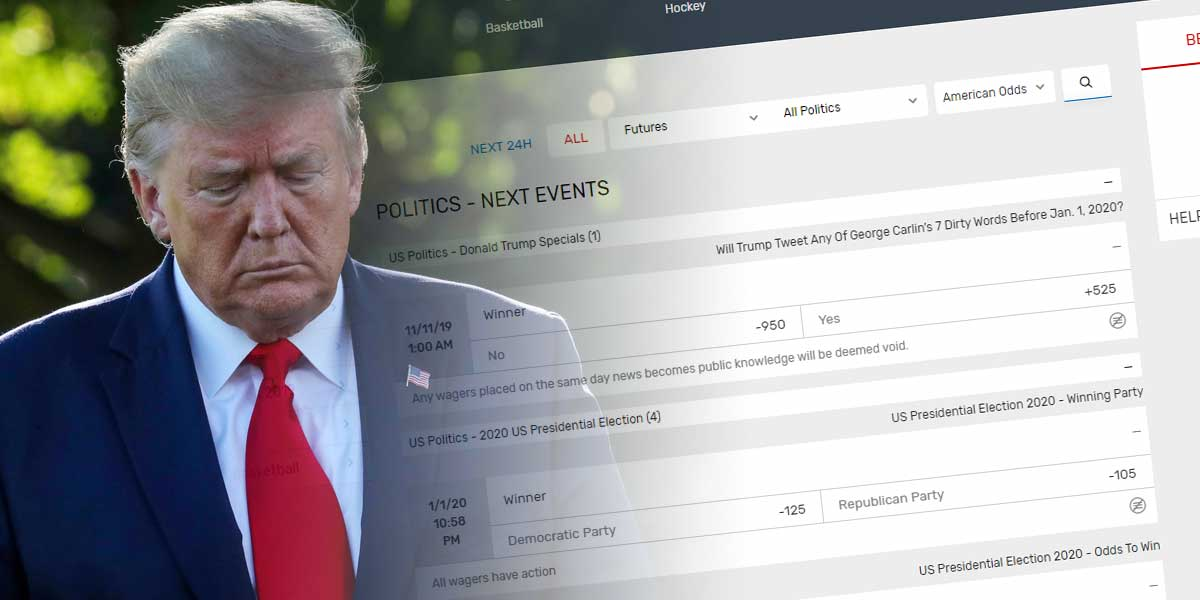 Bovada Posts Prop On Trump Tweeting Profanities Before 2020