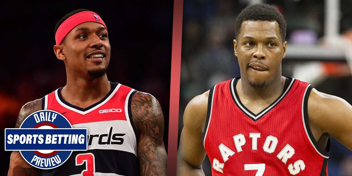 Bradley Beal and Kyle Lowry