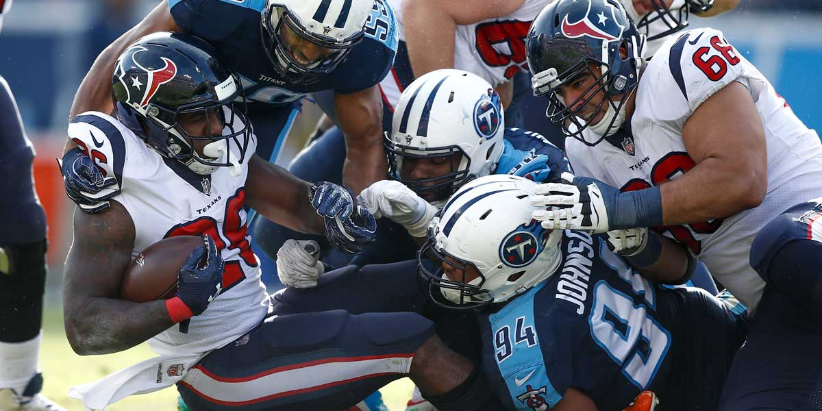 Houston Texans are taking on the Tennessee Titans