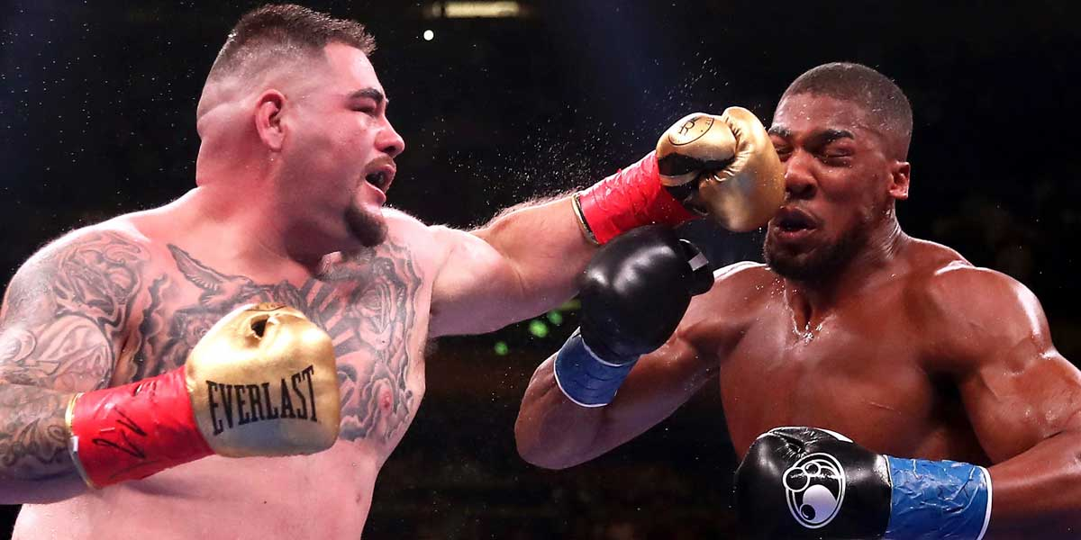 Anthony Joshua vs, Andy Ruiz Jr