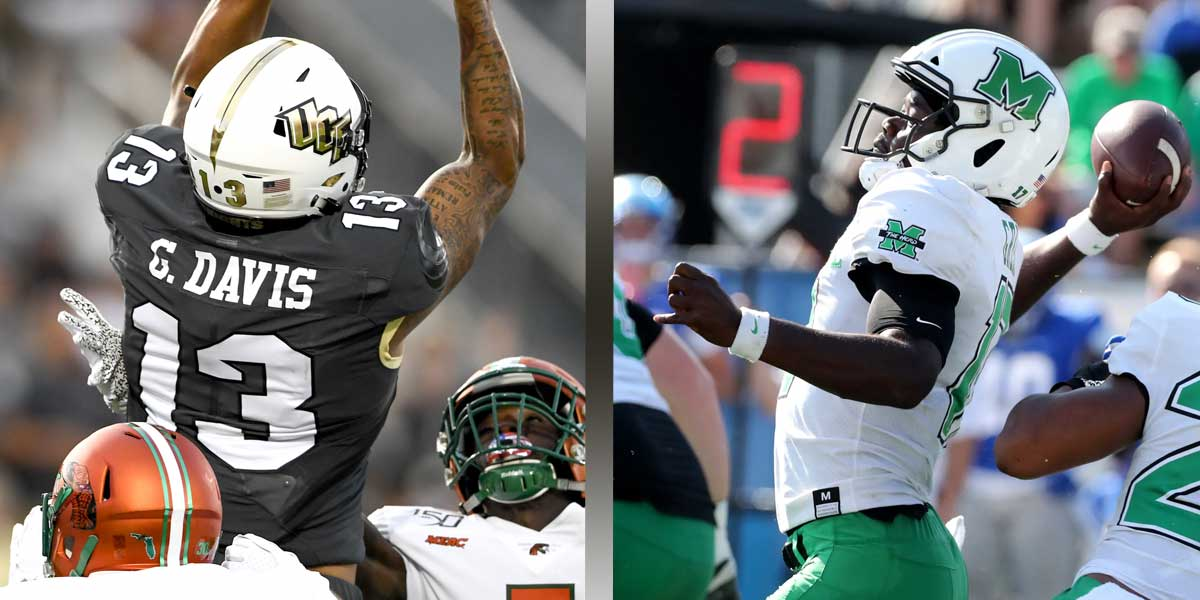 UCF Knights vs. Marshall Thundering