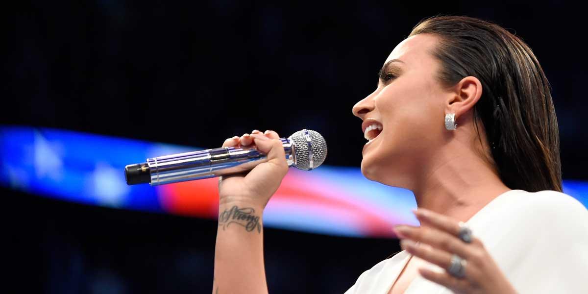 Demi Lovato Anthem