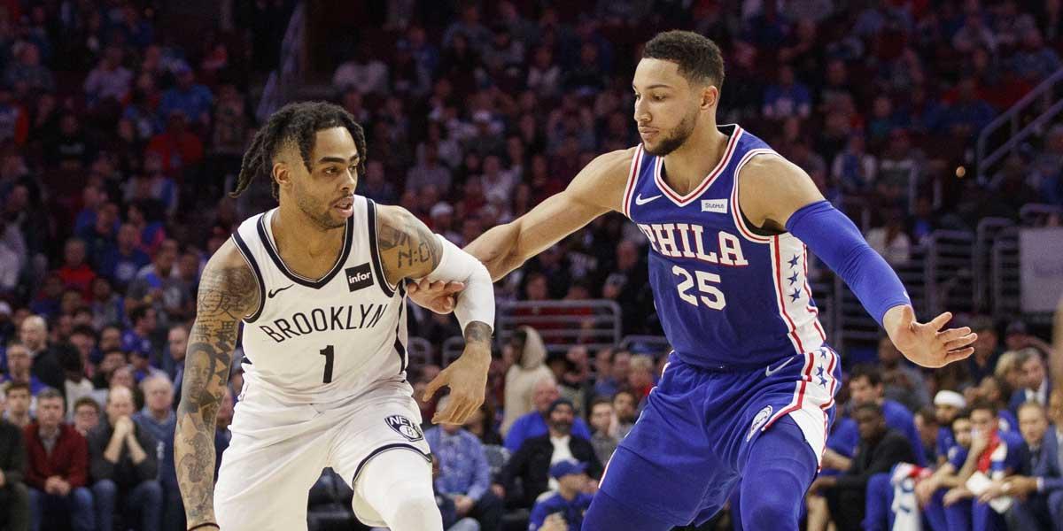 Brooklyn Nets' matchup against the Philadelphia 76ers