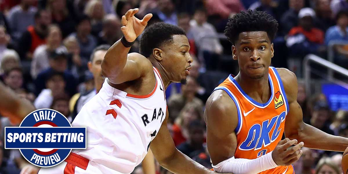 Toronto Raptors vs. Oklahoma City Thunder