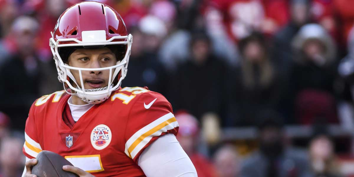 Patrick Mahomes has the shortest odds to win the MVP award.