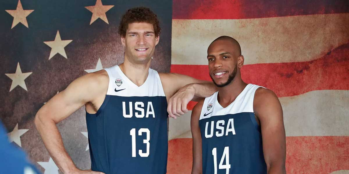 USA Mens Basketball Finalists