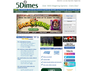 5Dimes Sports Betting