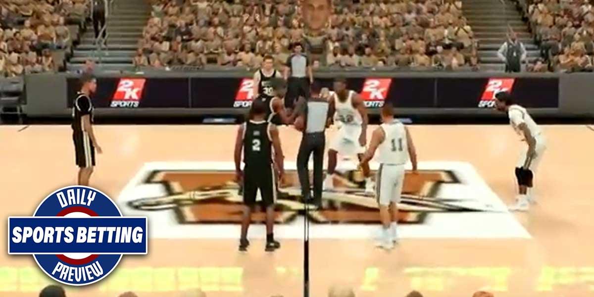 Simulated NBA Games