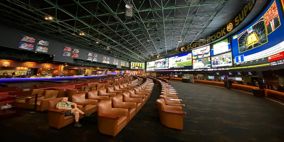Empty Sportsbook