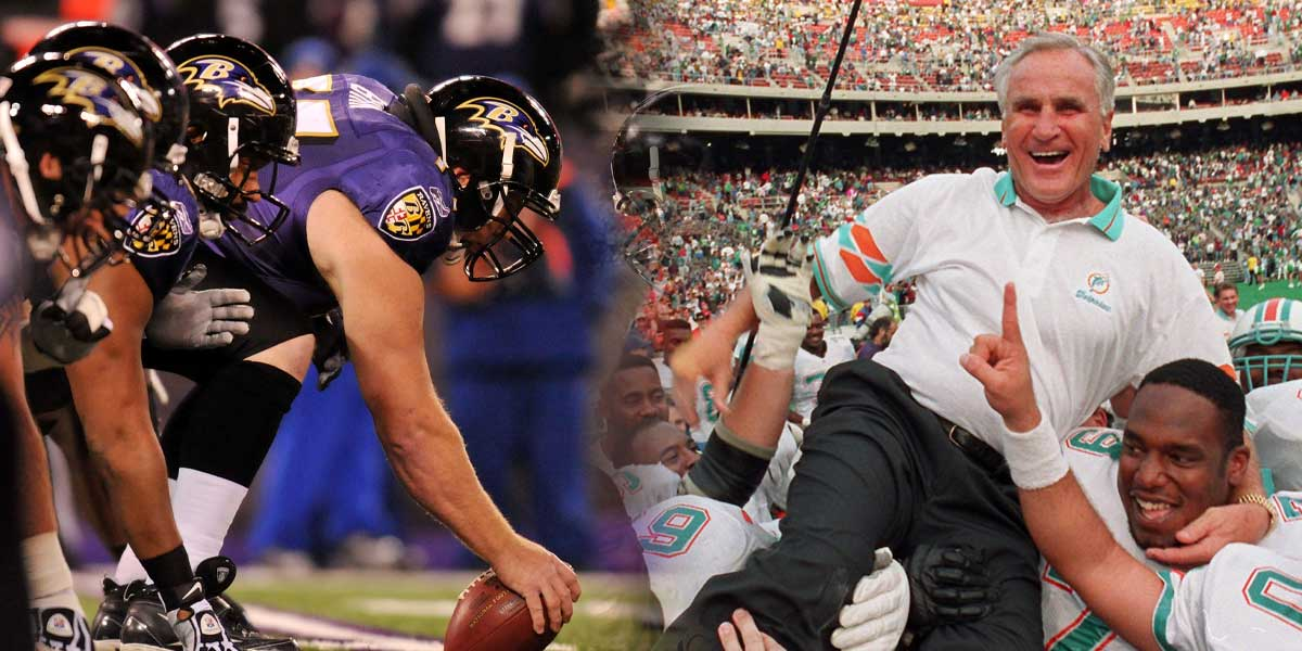 Baltimore Ravens - Undefeated Miami Dolphins