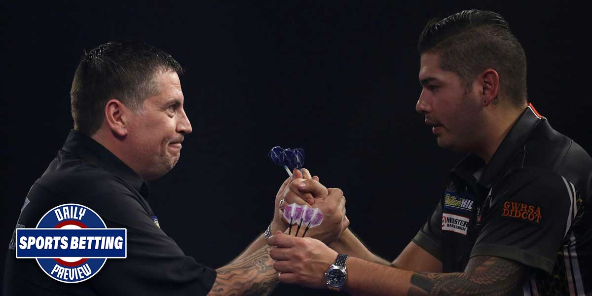 Gary Anderson and Jelle Klaasen