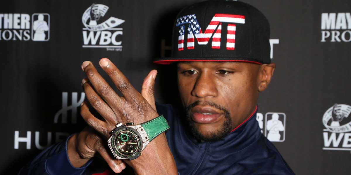 Floyd Mayweather Jewelry Auction